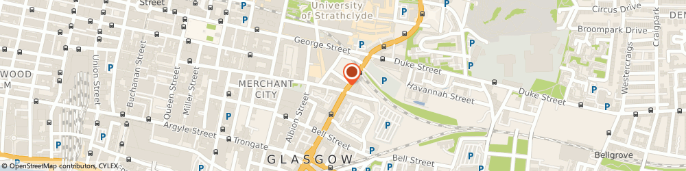 Route/map/directions to Pepper and Cute, G1 1QN Glasgow, 161 High Street