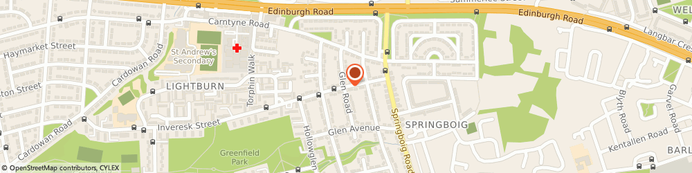 Route/map/directions to Kitchen & Bathroom Services, G32 0ED Glasgow, 19 Greenfield Avenue