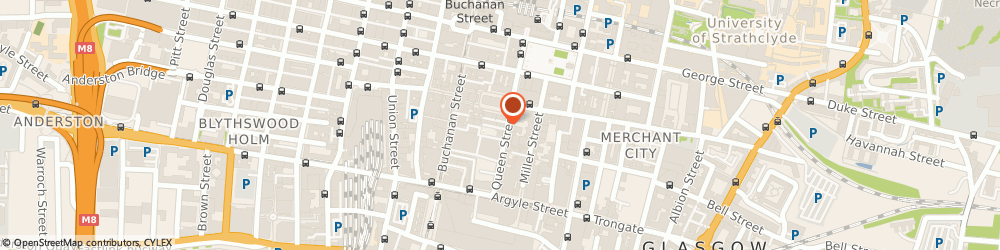 Route/map/directions to The Beauty Store, G1 3DB Glasgow, 1 Royal Exchange Ct