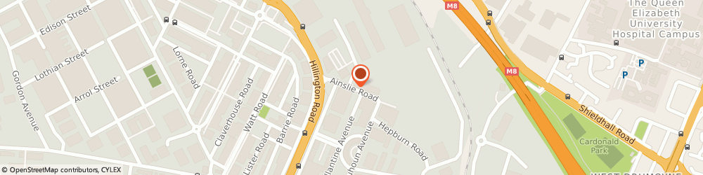 Route/map/directions to Property Publishing Company Uk Ltd, G52 1DD Glasgow, THE INNOVATION CENTRE 1 AINSLIE ROAD