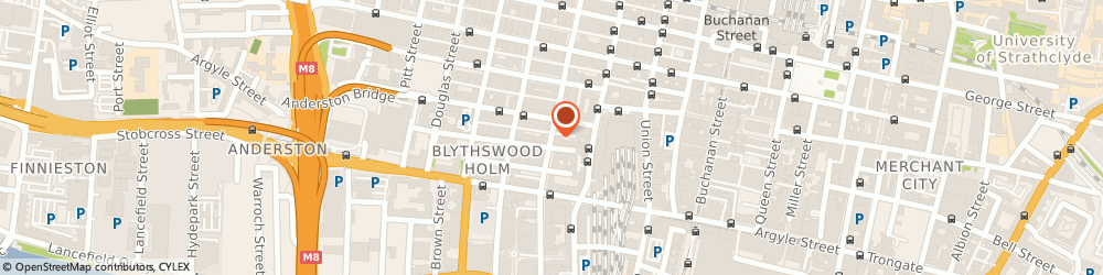 Route/map/directions to Jackson Boyd Lawyers, G2 6HG Glasgow, Centenary House, 69, Wellington St