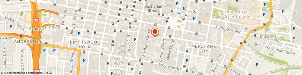 Route/map/directions to BDP Ltd, G1 3AN Glasgow, 15 Exchange Pl