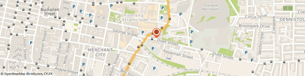 Route/map/directions to Lomond Kitchens & Bathrooms, G4 0UL Glasgow, 15-17 DUKE STREET