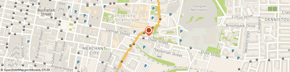 Route/map/directions to James M Carmichael Solicitor, G4 0UL Glasgow, 1 Duke St