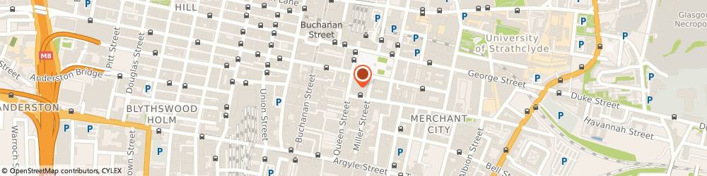 Route/map/directions to Grant Thornton - Glasgow, G1 3BX Glasgow, 110 Queen Street