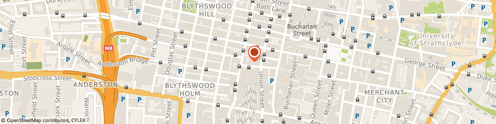 Route/map/directions to Health Rediscovered Ltd, G1 3RS Glasgow, 82 Gordon Street