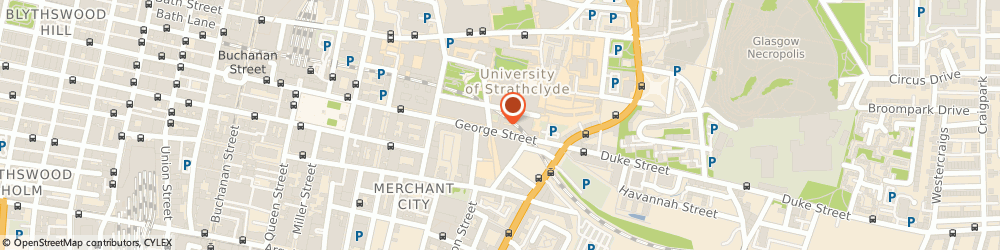 Route/map/directions to Ktp Centre, G1 1QE Glasgow, 50 George St