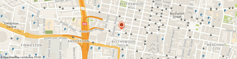 Route/map/directions to Gallagher Insurance, Risk Management & Consulting, G2 7AT Glasgow, 55 Blythswood Street