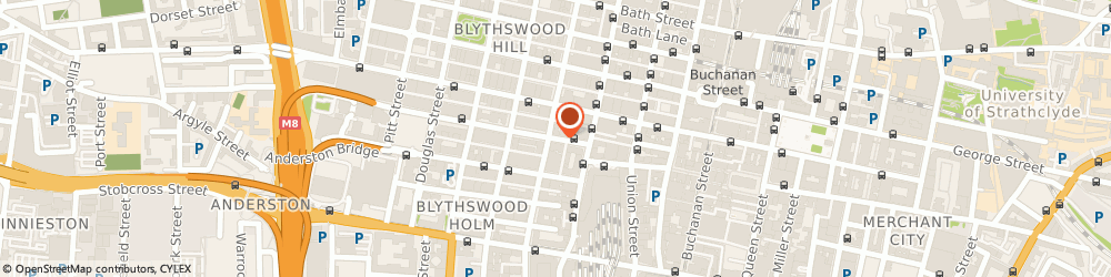 Route/map/directions to STOCKWELL CARPETS LIMITED, G2 6NL Glasgow, Allan House 25 Bothwell Street