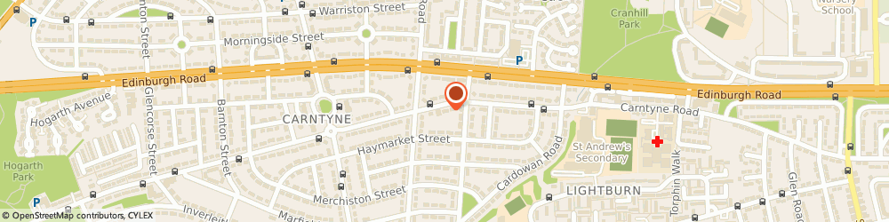 Route/map/directions to Carntyne Mini Market, G32 6NQ Glasgow, 804 CARNTYNE ROAD