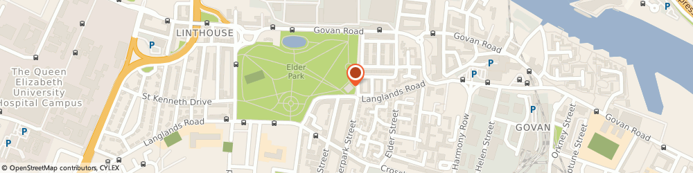 Route/map/directions to ELDER PARK LIBRARY & LEARNING CENTRE, G51 3TZ Glasgow, 228A Langlands Rd