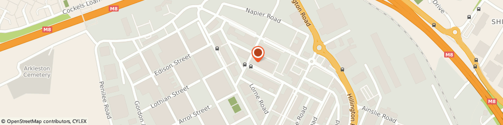 Route/map/directions to G & H Engineering Services Ltd, G52 4XX Hillington Park, 31 CARLYLE AVENUE