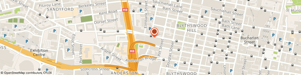 Route/map/directions to PITMEDDEN FIRE & SECURITY LTD, G2 5AS Glasgow, 319 St. Vincent Street