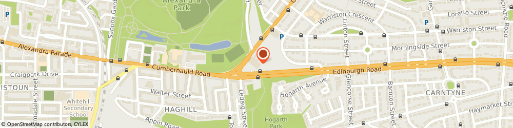 Route/map/directions to Evans Halshaw Ford Store Glasgow, G33 2ET Glasgow, 694 Cumbernauld Road