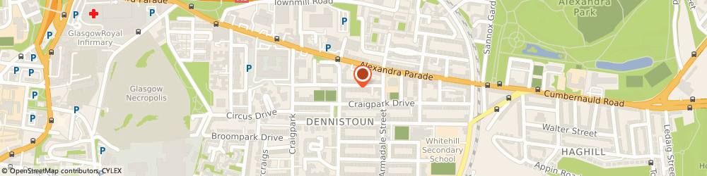 Route/map/directions to RMC2 SOLUTIONS LTD, G31 2NY Glasgow, 310 3/1, 310 Golfhill Drive, Dennistoun