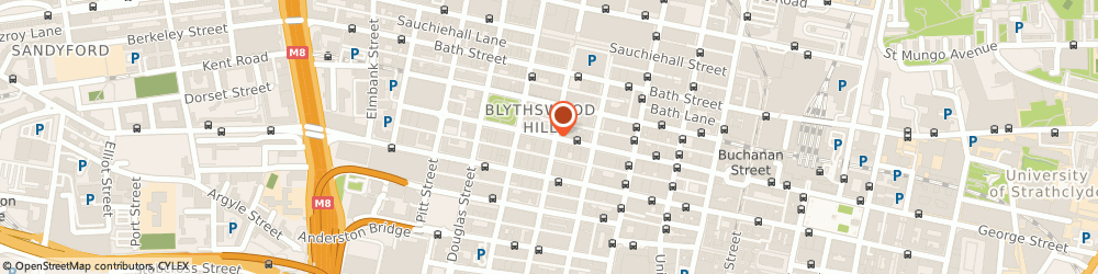 Route/map/directions to Hislop Notaries, G2 4QY Glasgow, 234 W George St