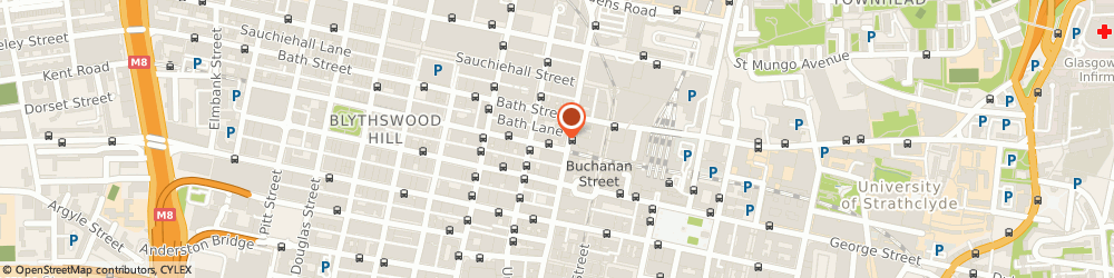 Route/map/directions to Digby Brown Solicitors, G2 1RW Glasgow, 2 West Regent Street