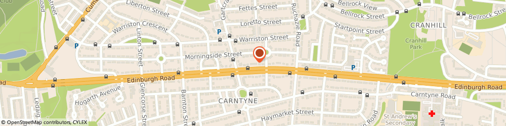 Route/map/directions to The Surgery, G33 3AL Glasgow, 463 Edinburgh Rd