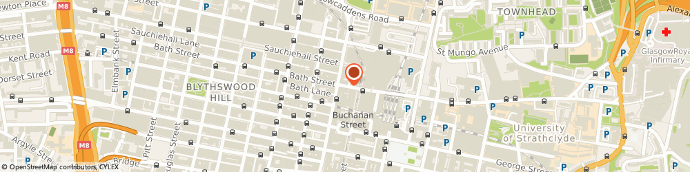 Route/map/directions to Ad Hom Ltd, G2 1HY Glasgow, 13 Bath Street