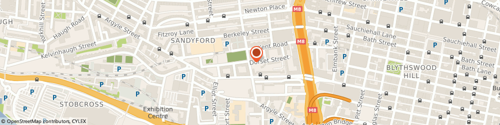 Route/map/directions to Bostico International, G3 7AG Glasgow, 67 Dorset Street