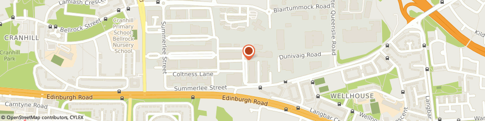 Route/map/directions to L & D Plumbing & Tiling Services, G33 4DZ Glasgow, 2b-2c Burntbroom Court, Burntbroom Street