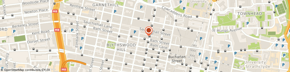Route/map/directions to Clydesdale Bank PLC, G2 2EN Glasgow, 120 BATH STREET