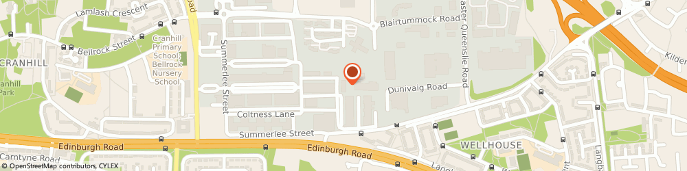 Route/map/directions to SPIE WHS, G33 4DZ Glasgow, Burntbroom Court