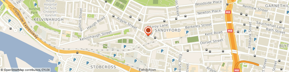 Route/map/directions to Thomson Engineering, G3 8ND Glasgow, 1103 ARGYLE ST
