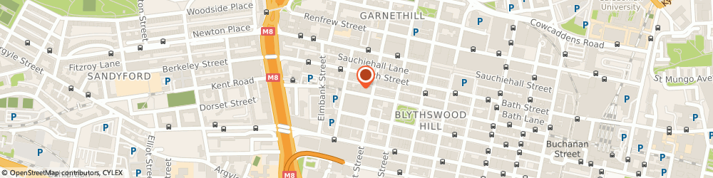 Route/map/directions to Hotel ibis Glasgow City Centre - Sauchiehall Street, G2 4DQ Glasgow, 220 West Regent Street