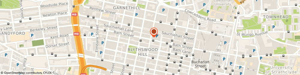 Route/map/directions to Automated Document Services Limited, G2 8JX Glasgow, CAPELLA, 60 YORK STREET