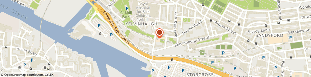 Route/map/directions to KELVINGROVE COLLEGE, G3 8QJ Glasgow, 20 Sandyford Street