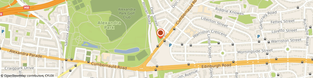 Route/map/directions to Evans Halshaw Ford Transit Centre Glasgow, G33 2FB Glasgow, 20 Provan Road