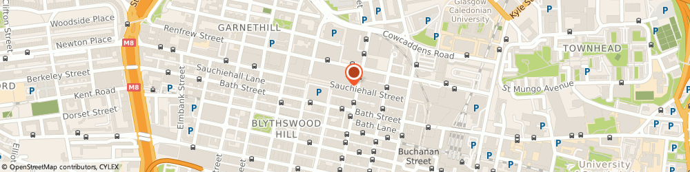 Route/map/directions to Chinese Medicine Centre, G2 3DH Glasgow, 140 Sauchiehall St, Unit 112