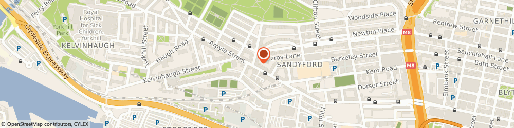 Route/map/directions to MedicSpot Clinic Glasgow Argyle Street, G3 8LY Glasgow, 1094 Argyle Street