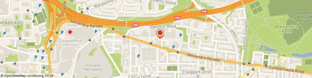 Route/map/directions to Rosewood Fire Surrounds, G31 3AD Glasgow, 391 Alexandra Parade