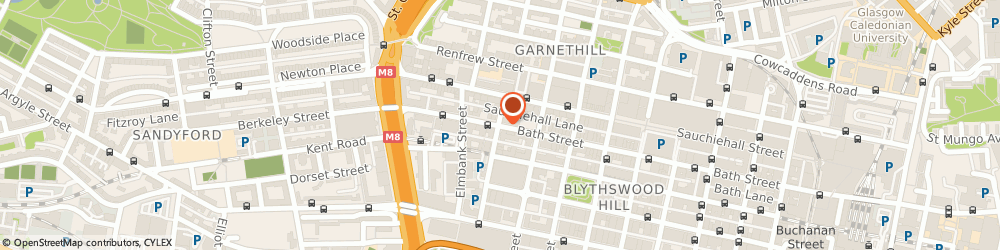 Route/map/directions to Headway, G2 4JP Glasgow, The Renfield Centre, 260 Bath Street