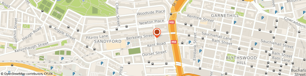 Route/map/directions to Neena & Lucky Limited, G3 7EE Glasgow, FLAT 1/2, 15 GRANVILLE STREET