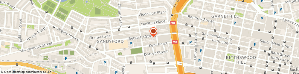 Route/map/directions to Circle Insurance Services Independent, chartered insurance services, G3 7DX Glasgow, 71 Berkeley Street