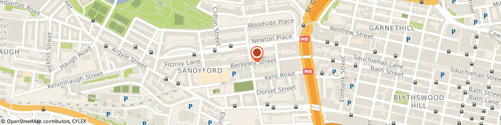 Route/map/directions to Lorna Green Relate Therapist, G3 7DW Glasgow, 38 Berkeley St