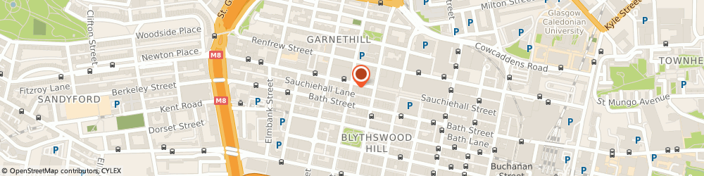 Route/map/directions to Dolphin Fitted Bathrooms, G2 3EZ Glasgow, 263-267 SAUCHIEHALL STREET