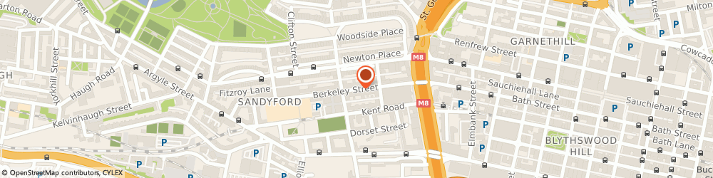 Route/map/directions to Mr Alastair Moodie, G3 7DS Glasgow, 72 Berkeley Street