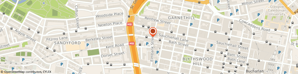 Route/map/directions to Megasool Gifts, G2 4JR Glasgow, 272 BATH STREET