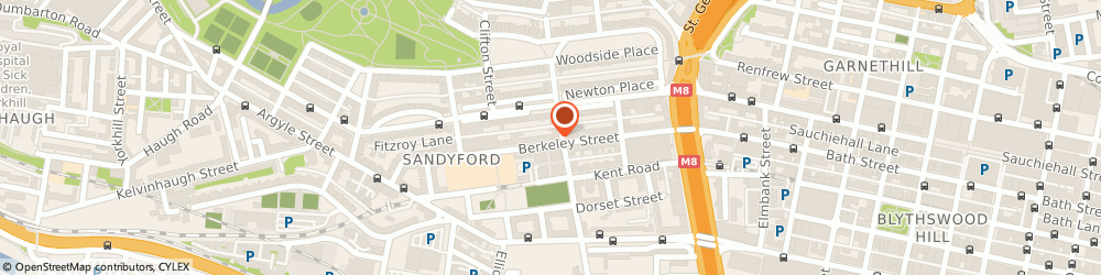Route/map/directions to Free to Book, G3 7HU Glasgow, 100 Berkeley St