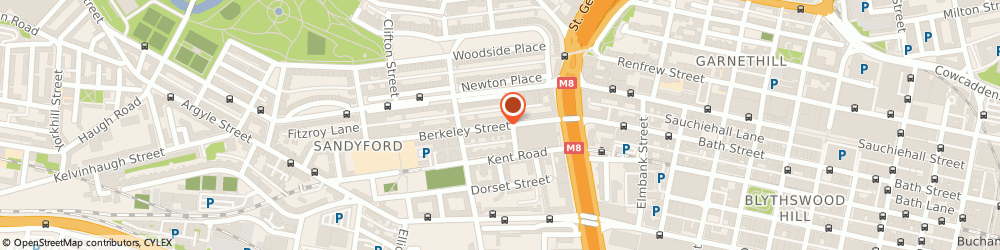 Route/map/directions to Ubisan LTD, G3 7DS Glasgow, 48 Berkeley Street
