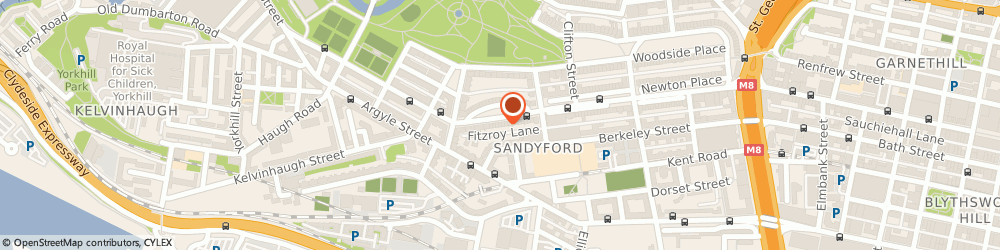 Route/map/directions to Mckay Financial Services Limited, G3 7RW Glasgow, 12A Fitzroy Place