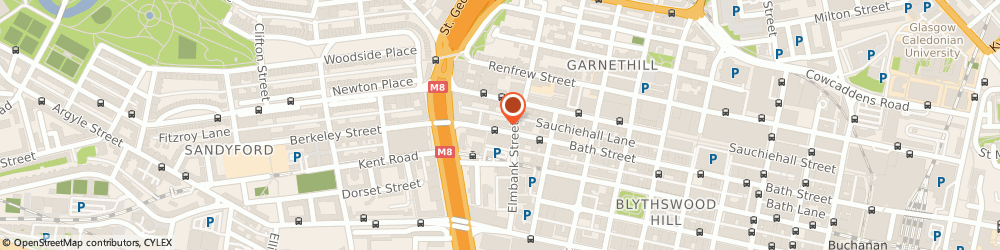 Route/map/directions to Abate Asbestos Surveyors Ltd, G2 4JR Glasgow, 272 Bath Street