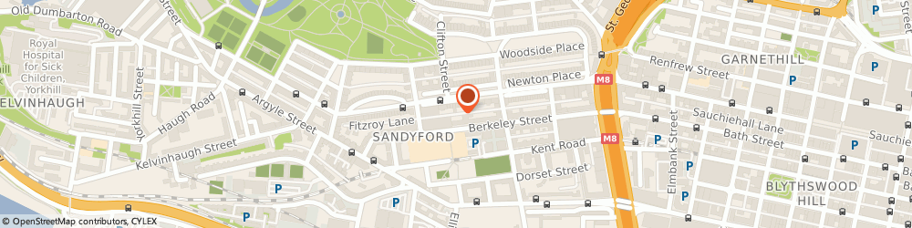 Route/map/directions to Strategic Asset Managers Ltd, G3 7NB Glasgow, 11 SANDYFORD PLACE