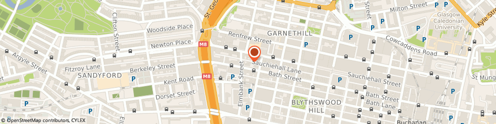 Route/map/directions to Youth For Christ, G2 4JP Glasgow, 260 Bath Street