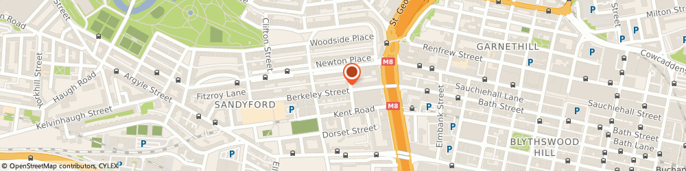 Route/map/directions to Uniquely Minded Counselling, G3 7DS Glasgow, 48 Berkeley St