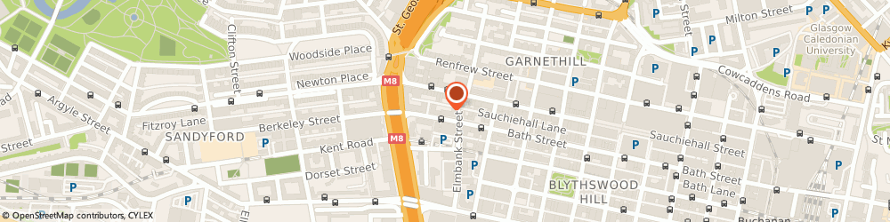 Route/map/directions to Roofcare Limited, G2 4JR Glasgow, 272 BATH STREET
